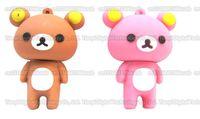 bear memories - DHL shipping GB GB GB GB GB GB Real capacity Cartoon Teddy Bear USB flash drive pendrive memory stick USB External storage disk