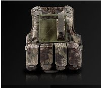 Wholesale Vest tactTactical vest outdoor products seal Camouflage amphibious cs Counterterrorism outdoor vest Protective Training combat tactical gear