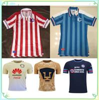 Wholesale 1617 Annyversary Away Chivas Guadalajara soccer jersey thai quality Annyversary Away Chivas Guadalajara soccer football Jersey