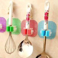 Wholesale 3pcs High quality Multifunctional mop broom stick hanger hooks bathroom kitchen supplies