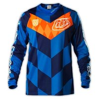 Wholesale New TLD Moto Racing T shirt sports Cycling jersey Motorcycle shirt orange Cycling Jersey