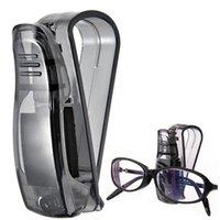 Wholesale Automobile Interior Accessories Car Sun Visor Glasses Sunglasses Ticket Receipt Card Clip Storage Holder