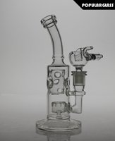 bend pipes - 21 cm tall joint size mm FC glass FC bong FC smoking water pipes FC straight fab oil rigs small version FC FAB
