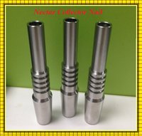 Wholesale Titanium Tip Nectar Collector Domeless Titanium Nail mm mm mm GR2 Inverted Grade Ti Nails for Honey Dab Straw Concentrate Dab Rigs