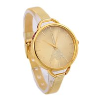 Wholesale Hot Fashion Stainless Mesh Strap Watch Women Small Dial Poplular Brand Wristwatches Ladies Gold Silver Dress Quartz Watch