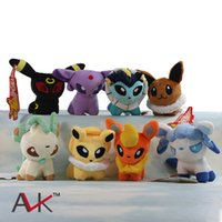 animal pets games - 2016 Christmas kids toy Anime Pet elves Plush Toys Soft Stuffed Animal Dolls Cartoon Collection Brinquedos Peluche Poke mon Children Gift