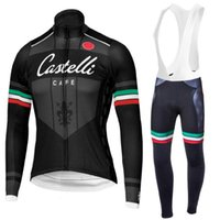 Wholesale 2015 Pro team Winter Thermal Fleece long Cycling Jersey Ropa Ciclismo Winter Cycling Clothing MTB bike sport jersey maillot