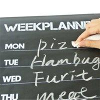 Wholesale x45cm Chalkboard Blackboard Stickers Removable Vinyl Draw Erasable Blackboard Learning Multifunction Office