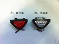Wholesale Universal Led Brake Stop Light F1 Style Triangle LED Car Rear Tail Light Reverse Safety Strobe Lamp CQM60