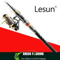 Wholesale m Carbon sea rod AF4000 Fish line Wheel superhard metal reel seat long shot fishing rod cast pole fishing rods