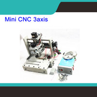 Wholesale DIY Mini axis CNC Router working area mm for wood pcb pvc etc mill engraver