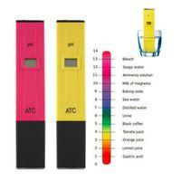 acidity soil - Accurate Durable Digital pH Meters Water Soil Tester Acidity Acid Testing Pen Hours Usage for Aquarium Pool Water Laboratory tinyaa