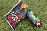 Wholesale Limited Hot cool Brands Custom Products New style most recent release golf club PU headcover Cinco De Mayo putters cover