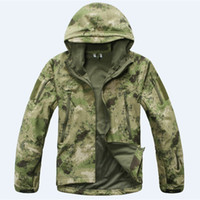 Wholesale High Quality Camping Jackets Softshell Hot TAD V Windproof Men Outdoor Hunting Camping Waterproof Coats Jacket Army Outdoor Coat