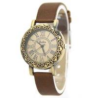 analog shorts - Vine Design Women Wristwatches Men Quartz Watch Feamle Girls Dress Watches Short Leather Strap Watch Roman Numerals W1825