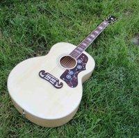 12 string acoustic guitar - 2016 new arrival J200 acoustic guitar Custom J200 electric acoustic guitar inch jumbo guitar
