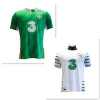 Wholesale Jersey Ireland EURO CUP Soccer jersey home green away black top quality Ireland soccer jersey football shirt