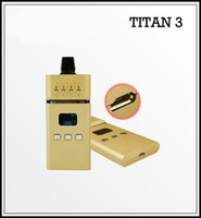 Wholesale titan VS2 dry herb vaporizer pen digital vaporizer for vaping VS titan titan