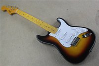 Wholesale New Scalloped Fingerboard ST standard Tobacco sunburst electric guitar Big head guitar Yngwie Malmsteen Guitar