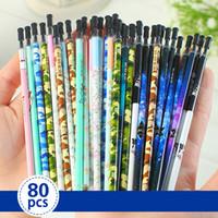 Wholesale SCM Korea Fashion Colorful Black mm mm Ink Gel Pen Refills Mix Colors