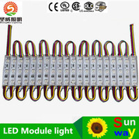 Módulos impermeables RGB Pixel LED 12V 3 LED 5050 SMD LED módulos WW CW PW R G B Y Led Iluminación de Channer Cartas