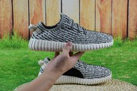 Cheap [with Box]2016 Wholesale Kanye West Yeezy 350 Boost Top Quality Pirate Black Turtle Dove Moonrock Oxford Tan Sports Shoes Fashion Sneakers