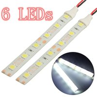 Wholesale 2x cm White LED Strip Lights Flexible V Car Moto Boat Van Waterproof IP65