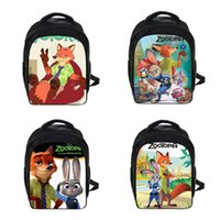 animated backpack - New Backpack Zootopia Animal Utopia Student Bag Children School Bags ForTeenagers Cute Animated Cartoon Unisex Alleviate Burdens Backpack