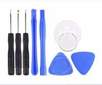 Wholesale 8 in Set Opening Tools Repair Tools Disassemble Kit iPhone S s Smart Mobile Phone Repair Tools Kit Screwdriver