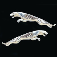 Wholesale Fashion Car Stickers for Jaguar Silver Metal Good Quantity Popular Car Sticker Exterior Accessories New Arrivals