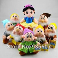 Wholesale 2015 New Snow White And The Seven Dwarfs Plush Doll Toy Children Girl Stuffed Toys High Quality Dirthday Gift
