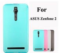 asus crystal black - For Zenfone Ultra thin Slim Soft TPU Crystal Transparent Phone Back Case Flexibilty UltraThin For ASUS Zenfone2 ZE551ML