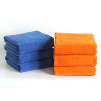 Wholesale SF Express White Blue Orange CM Luxury Hotel Washcloths Hotels Towel cotton bath towel factory price washcloth turkish towel