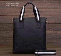 Wholesale 2016 New Leather Men Messenger Bags Fashion Casual Business Shoulder Handbags for man Men s Travel Bags