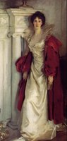 art portland - Sargent Noblelady Winifred Duchess of Portland standing Pure Hand painted Figure Art Oil painting On canvas In Any size customized