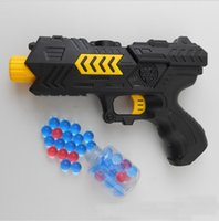 Wholesale New arrival Shadow vanguard seal soft play water gun play Bubble hair crystal playing toys Child safety shooter nozzle