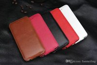 attached case - For Iphone6 PLUS Ultrathin vertical Attach Screen Genuine leather Case Cover With Card Holder For Iphone6
