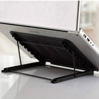 Wholesale Six stands foldable Cooling Stainless stand for Laptop Stands for iPad computer iPhone Smartphone holder Rack