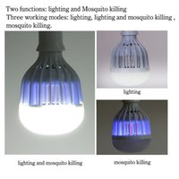 anti bug lights - Combo Zapper LED bulb lights anti mosquito Zika V LED bulbs and pest control indoor outdoor lighting insects wasp moths of Bug kille