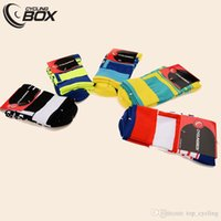Wholesale Brand New Cyclingbox Four Color Cycling Socks Men And Women Pro COOLMAX Antibacterial Mountain Bike Socks Sprots Wear Ciclismo
