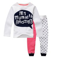 baby thermal shirt - new autumn and winter cotton letter thermal underwear girl underwear cozy baby girls clothing pieces set