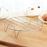 Wholesale Kitchen Tool Stainless Steel Pot Holder Steam Rack cm Round Dumpling Steam Tray Insulation Rack Cooking Supplies