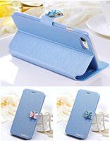 """For Chinese Brand Leather Grey Luxury Fashion Butterfly Built-in Card slot Silk Pattern 4.7"""" Stand Flip Leather Mobile Phone Case For iPhone 7 7 plus SE 6 6S Plus"""