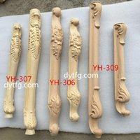 bathroom wood cabinets - Special offer woodcarving carved wood furniture European bathroom cabinet cabinet TV cabinet accessories side column