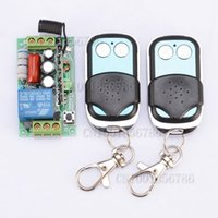 Yes adjustable latch - 220V CH A RF Wireless Remote Switch Receiver Transmitter For Light Lamp LED ON OFF Momenrary Toggle Latched Adjustable