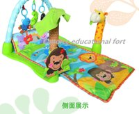 animal rainforest - Candice educational fort a baby crawling tropical rainforest music game blanket Baby play mat tap mental fitness dance