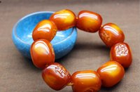 amber poland - Poland Baltic old beeswax barrel bead bracelets old beeswax beeswax amber bracelets bracelet male models authentic