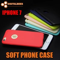 Wholesale slim matt TPU phone case for Iphone s plus colorful scrub back cover soft quality phone housing light ultra thin mm smooth