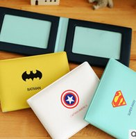 american bus - 2016 New Hottest Novelty Super Hero Cartoon Silicone Card Cover Bus Bank Id Card Case Holder