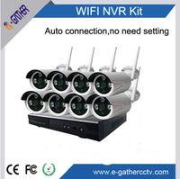 Wholesale CCTV surveillance channel WIFI NVR for Wireless WIFI outdoor IP CAM P Long Wireless Range Across Walls